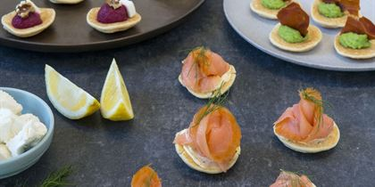 Fancy Canapes