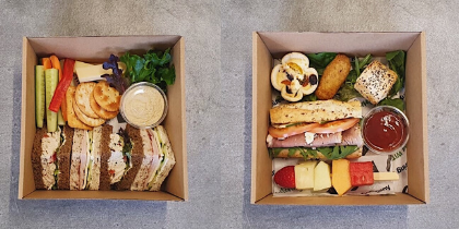 Packed Lunch Boxes