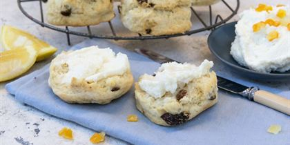 House baked Scones