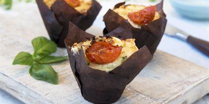 Allergen savoury muffins