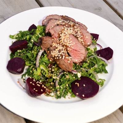 Lamb, Beetroot and Rocket- GF-