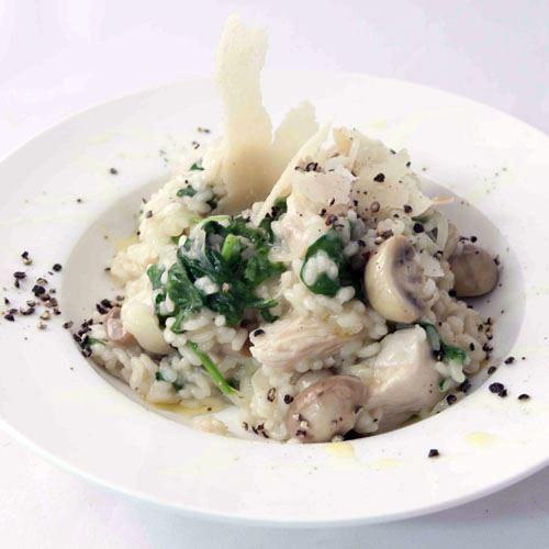 Chicken and Porcini Mushroom Risotto-GF