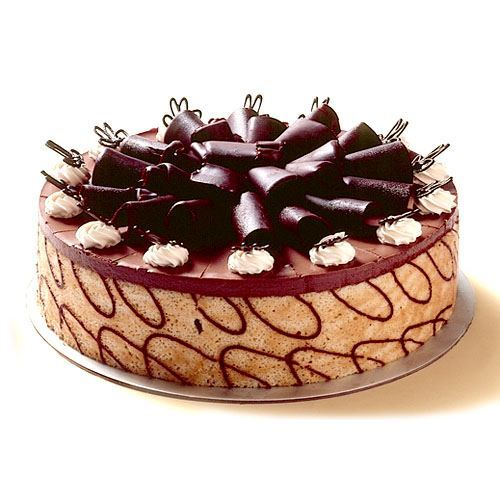 Large Chocolate Mousse Torte