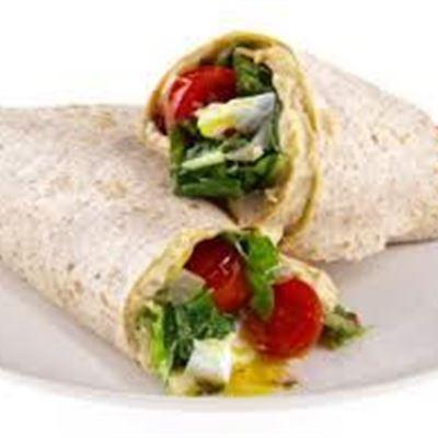 Gluten Free, Egg, Tomato & Mushroom Wrap