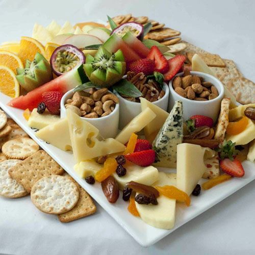 Cheese & Fruit Platters