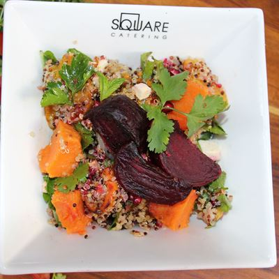 Quinoa, Pumpkin and Beetroot-VEG- VEGAN- GF-DF