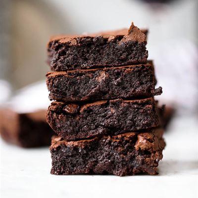 Brownies w' Cream