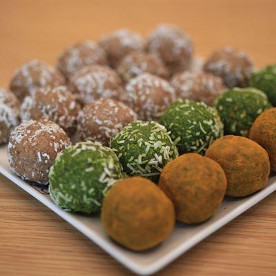 Gluten Free & Vegan Protein Balls
