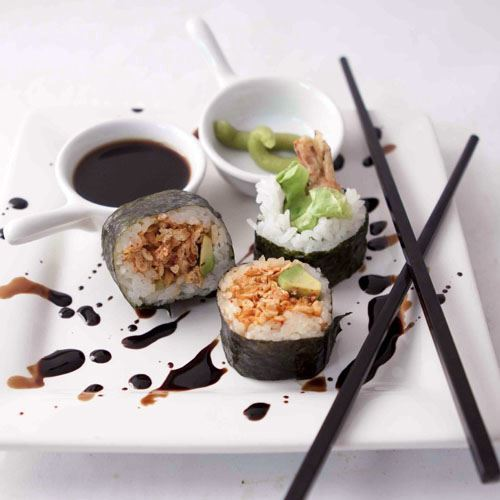 Assorted Nori roll Available  GF)(DF)