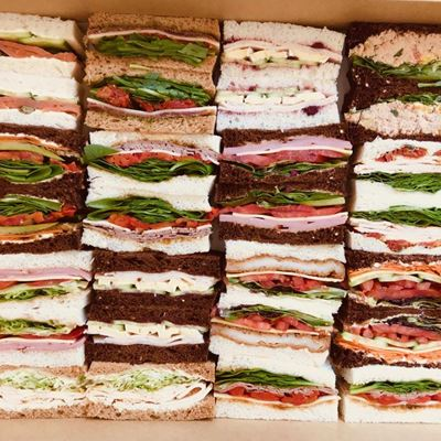 2 Slice-Finger Sandwich Platter of 14