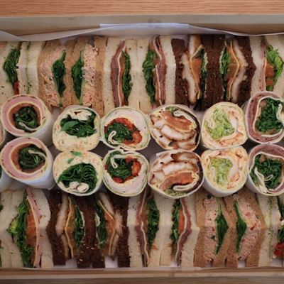 Wraps & Sandwich Platter for 9