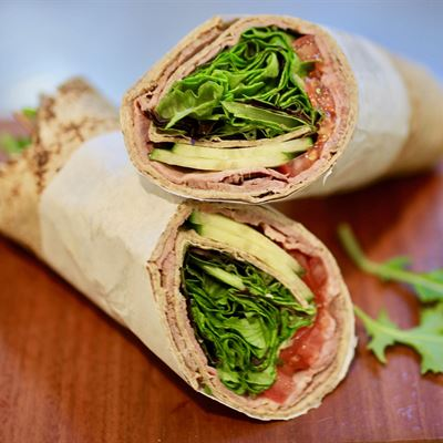 Large Vegetarian Wrap