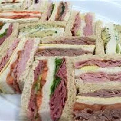 Gourmet Finger Sandwiches 3 slice