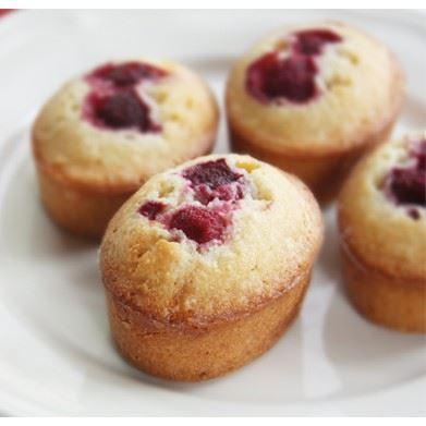 Gluten Free & Dairy Free Raspberry Friand