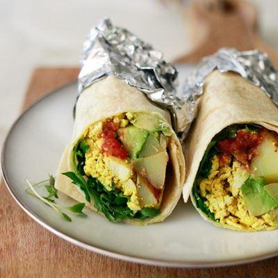 Breakfast Wraps – Gluten Free- Vegan - Dairy Free