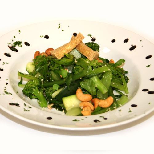 Asian Green and Tofu Salad VEG DF