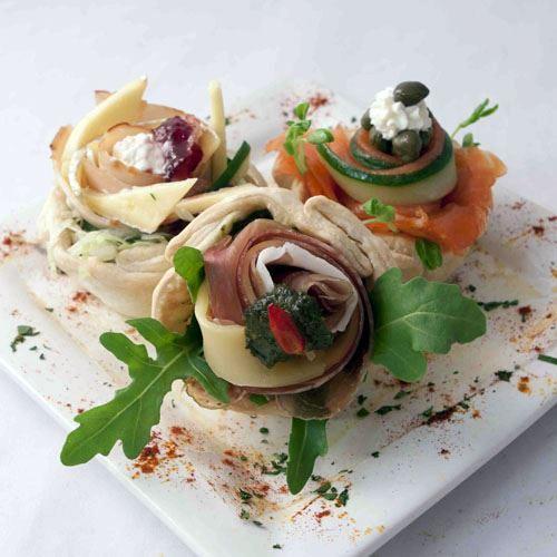 Savoury cold tartlet available (V) (GF)(DF)(Vegan)