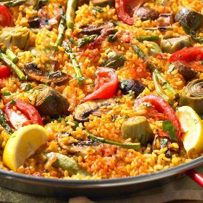 Vegetarian paella GF