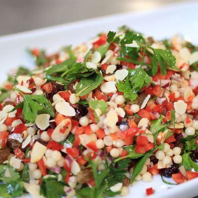 Pearl Cous Cous Salad-VEG-VEGAN-DF