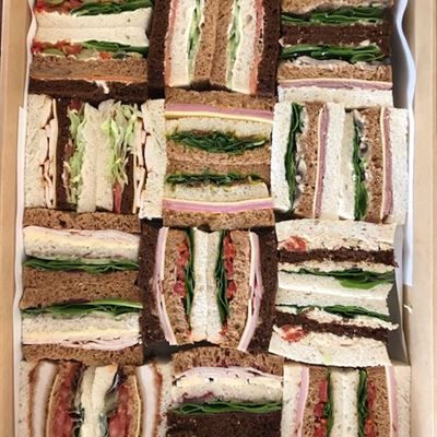 3 Slice-Finger Sandwich Platter of 12