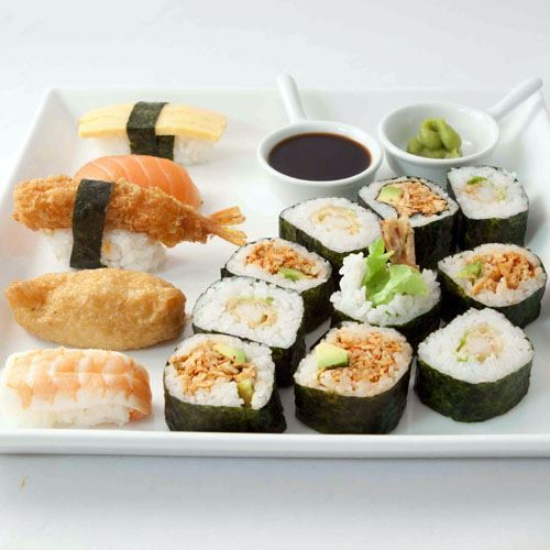 Sushi & Nori platter