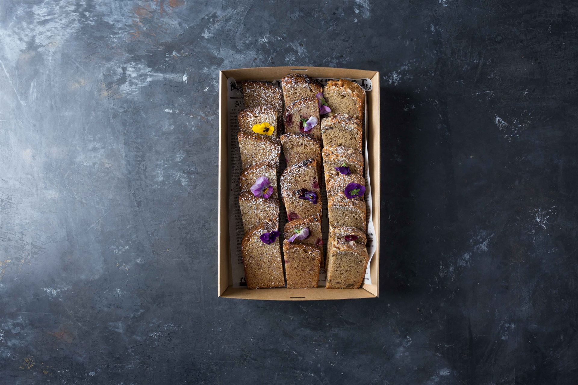 Fruit and walnut bread