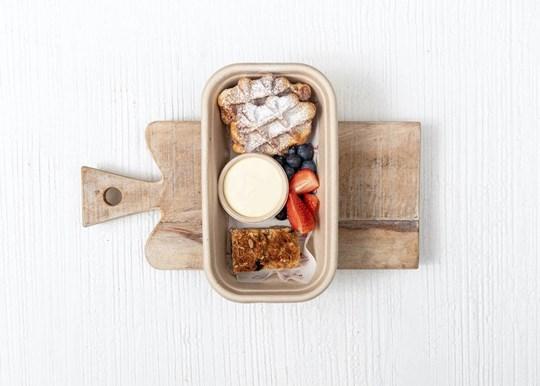 Small Breakfast Box - Waffle