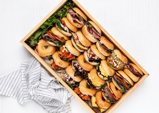 Mini Lunch Bagels