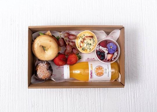 Large Breakfast Box - Bagel
