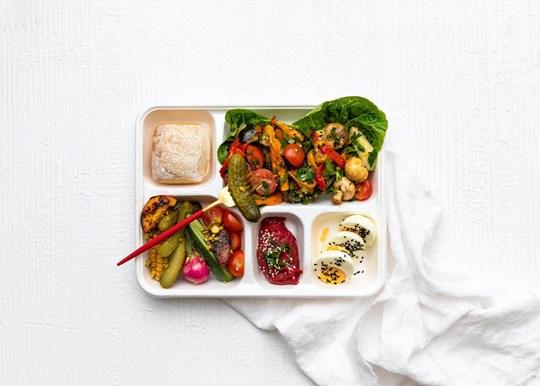 Ploughmans Bento Box - Vegetarian