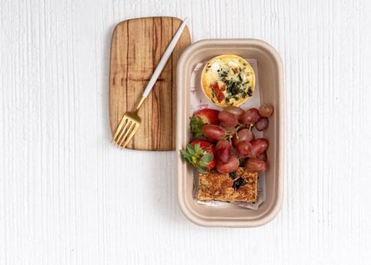 Small Breakfast Box - Quiche