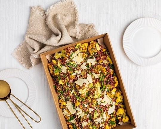 Cauliflower & Radicchio Salad