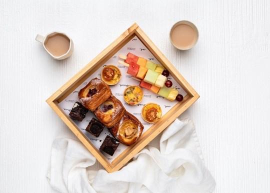 The Brisk Morning Tea