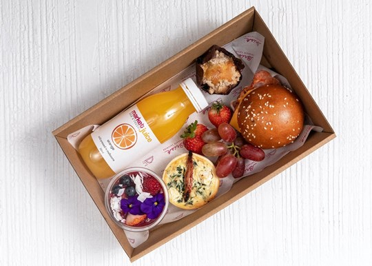Large Breakfast Box - Brioche