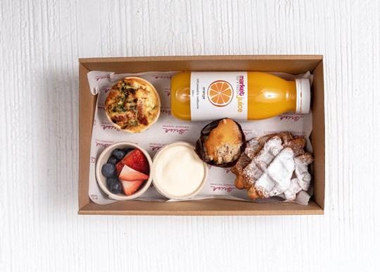 Large Breakfast Box - Waffle