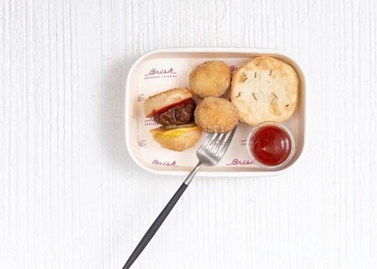 Pie, Arancini and Slider Gluten Free Box