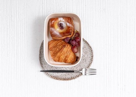Croissant, Danish and Fruit Box