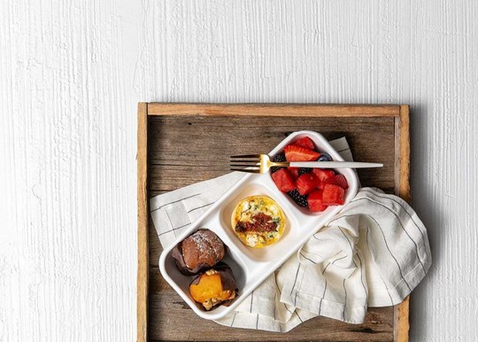 The Light Breakfast Box