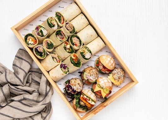 Wrap and Roll Platter