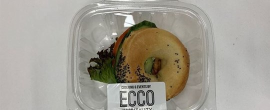 Individually packed - Mini Breakfast Filled Bagels - BLAT (ambient)