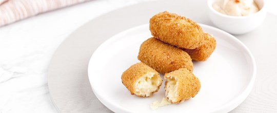 Mac and Cheese Croquettes with a Smokey paprika Aioli