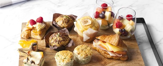 Breakfast Shared Platter - Sweet & Savoury
