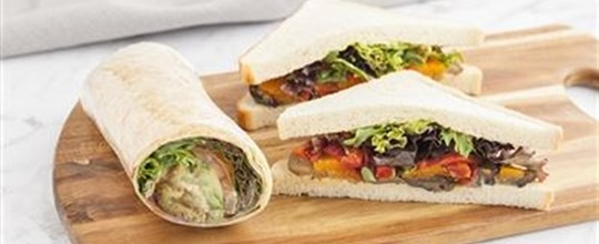 Nut Free Recipe (may contain traces) - Sandwich & wrap combination