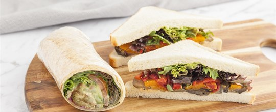 Special Dietary - Sandwich & Wrap Combination