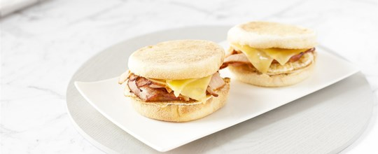 Gourmet Bacon and Egg Muffin