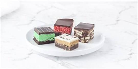 Assorted Slices - cut into bites