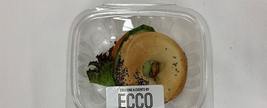 Individually packed - Mini Breakfast Filled Bagels - Haloumi & Avocado (ambient)