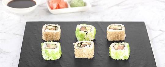 Gourmet Japanese Inside Out Sushi - GF