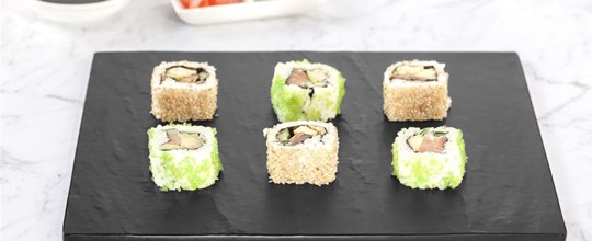 Gourmet Japanese Inside Out Sushi