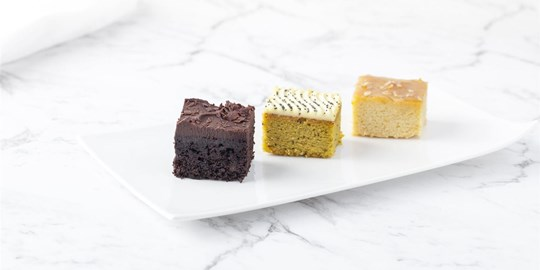 Assorted Individual Cakes